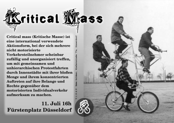 Critical Mass Juli 2010