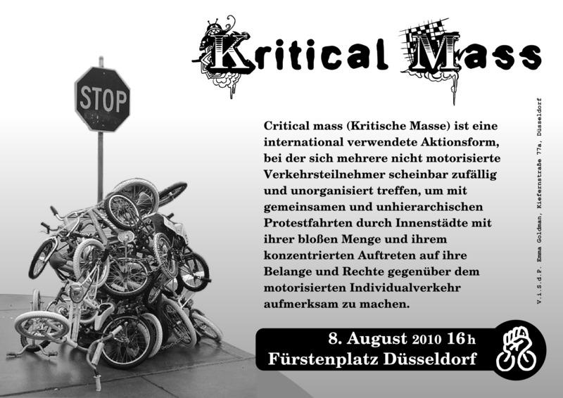Critical Mass August 2010