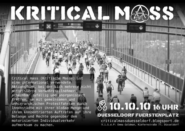 Critical Mass Oktober 2010