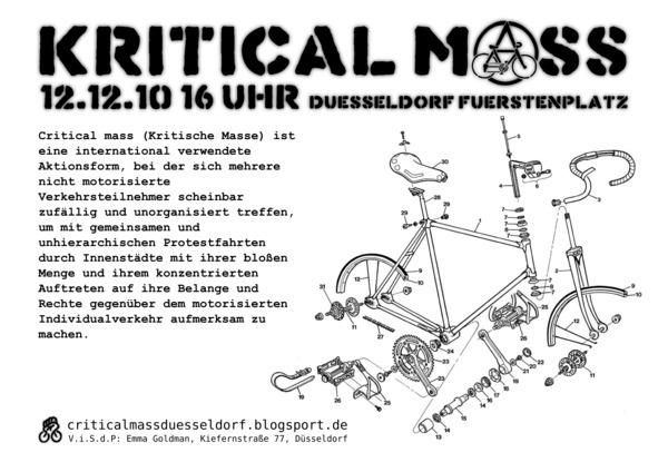 Critical Mass Dezember 2010