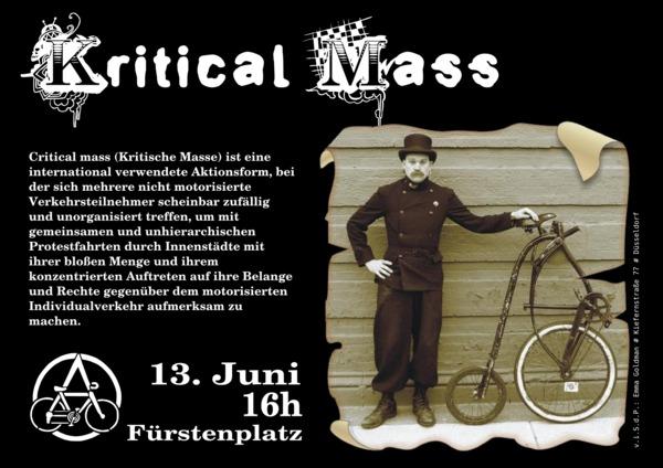 Critical Mass Juni 2010